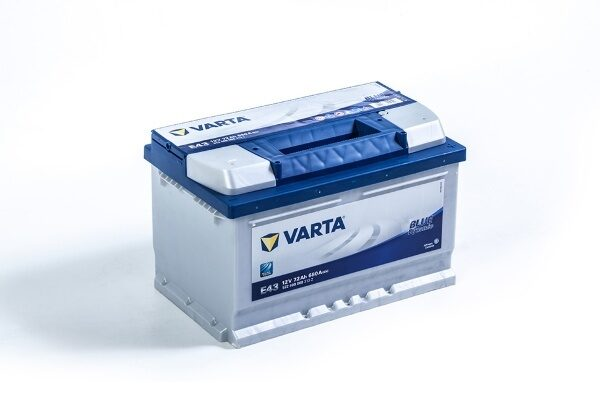 АКБ VARTA Blue Dynamic 72А/ч 680А о/п 572 409 068 (E43) низкий